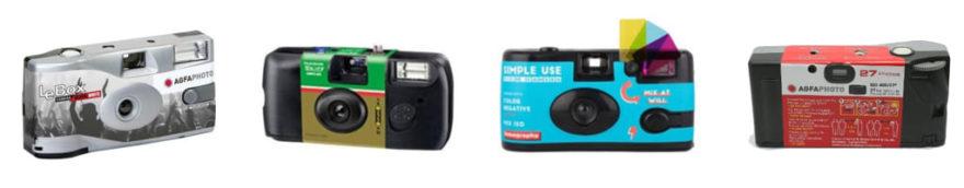 レンズ付きフィルムカメラ